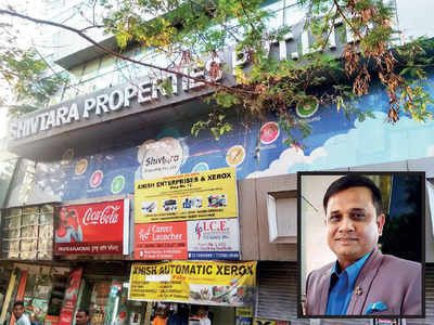 Builder booked for cheating two investors of Rs 4cr