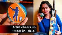 T20 World Cup, India vs Pakistan: Odia artist Priyanka Sahani creates special art to cheer up 'Men in Blue'