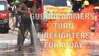 Gurugrammers turn firefighters for a day