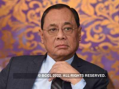 Chief Justice of India Ranjan Gogoi sits on bench for the last time