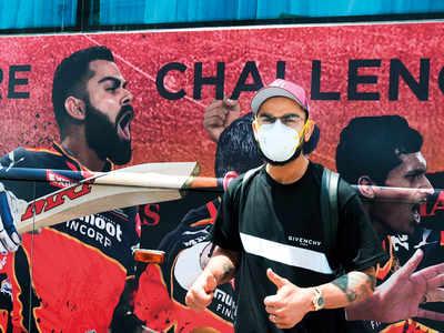 Kohli reaches Chennai to join RCB squad