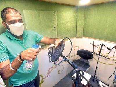 Sound studios going out of tune owing to muted Ganeshotsav