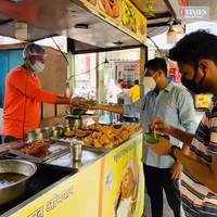 Unlocking diaries- Bhopal street food shops open after lockdown