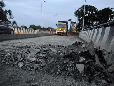 MES is still a mess: The flyover finally got a makeover, but another ramp still 'missing'