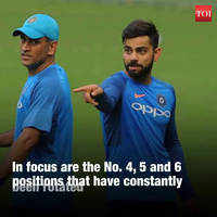India need to get a fix on their ODI middle-order