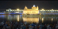 Golden Temple lights up on Parkash Utsav of Sri Guru Ram Dass Ji