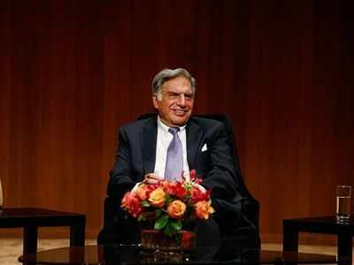 Ratan Tata makes it to the 'Gram'