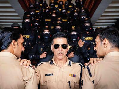Meet Rohit Shetty's super cops - Bajirao Singham, Sangram Bhalerao and Veer Sooryavanshi