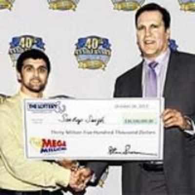 NRI gets dumped by girlfriend, wins $30.5 million lottery