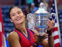 Teen US Open champ Raducanu gets epic first qualifier Slam win