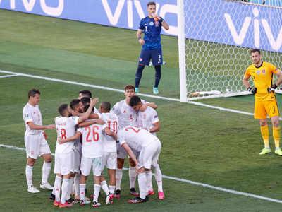 UEFA EURO 2020, Slovakia vs Spain Highlights: Spain thrash Slovakia 5-0 to qualify for last 16