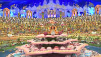 3500 types of dishes offered at Swaminarayan Temple in Vadodara on 'Govardhan Puja'