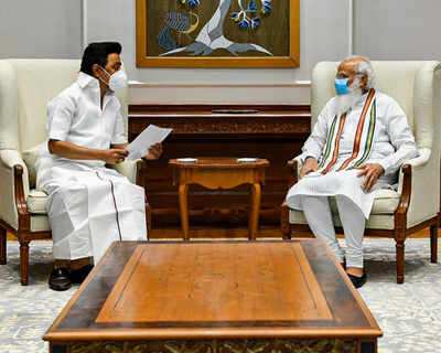 Tamil Nadu Covid-19 unlock news: Stalin meets PM Modi, seeks more Covid-19 vaccine doses for state