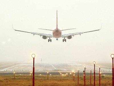 50 flights from city delayed by 45 mins