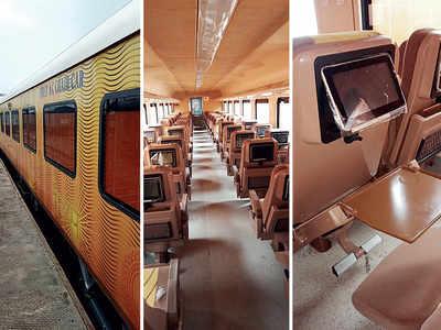 Mumbai-Ahmedabad Tejas rake arrives