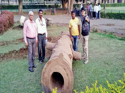 Citizens succeed in restoring historic cannon in Vijayapur