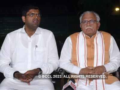 Manohar Lal Khattar to head Haryana govt again, Dushyant Chautala to be his deputy; swearing-in ceremony on Sunday