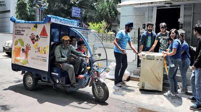 Koramangala 6th Block gets a load of its e-waste
