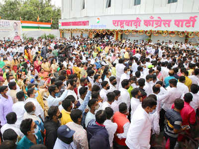 NCP Pune chief Jagtap arrested for crowd in pandemic