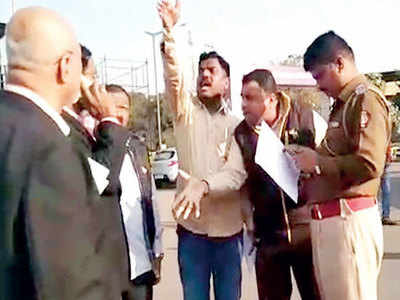Sambhaji Brigade moves CMO over liquor at stadium