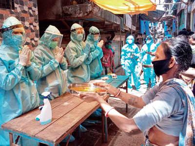 NGO screens 20,000 in slums despite doctor, workers testing positive