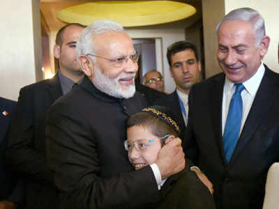 Warm welcome awaits Israeli PM Benjamin Netanyahu in Ahmedabad, to hold joint road show with Narendra Modi