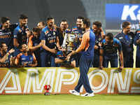 India hold nerve to beat England, win ODI series 2-1