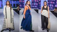 Naveli Deshmukh walked the ramp for designer Khushboo Shah at the Bombay Times Fashion Week – October 2021