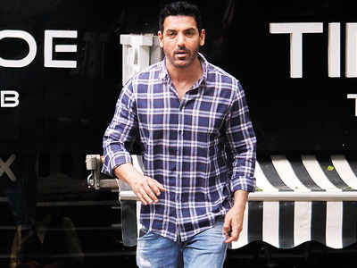 John Abraham spotted in Bandra