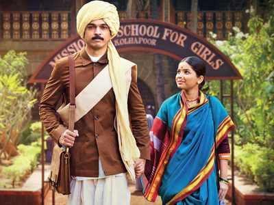 Anandi Gopal Movie Review: Bhagyashree Milind-Lalit Prabhakar starrer is a story of triumph and tragedy