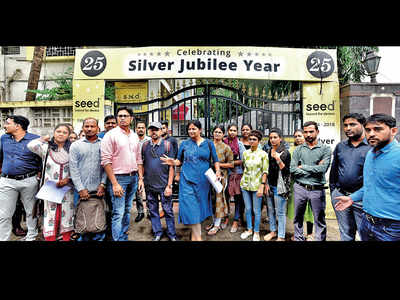 SEED Infotech employees meet labour commissioner over dues