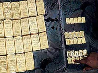 3 held for smuggling in Rs 8.7-cr gold