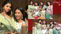Shah Rukh Khan's daughter Suhana Khan looks ethereal as she attends family wedding