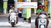 Varun Dhawan's reply to twitter user, who accuses him of riding scooter without helmet, is winning hearts