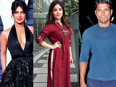 Priyanka Chopra to return to Mumbai to shoot for a song for The Sky is Pink with Farhan Akhtar and Zaira Wasim