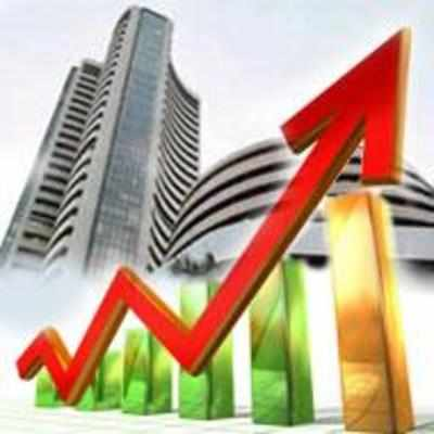 Sensex up by 86 points after five-day losing streak