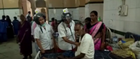 Hyderabad: Osmania General Hospital staff wear helmets for protection