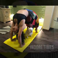 Yoga with pets this International yoga day