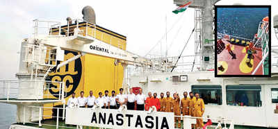 41 Indian sailors stuck on 2 ships off Chinese coast; families reach out to MEA, but say nothing is being done