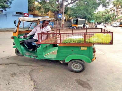 Autos shed skin to become veggie carts