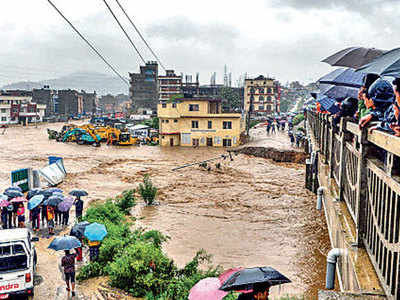 Floods, landslides claim 50 lives in Nepal, 35 missing