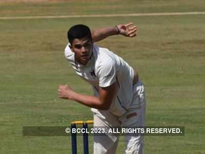 Arjun Tendulkar debuts in Mumbai senior team