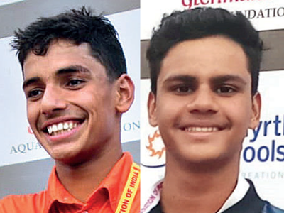 Aryan picks his third gold medal