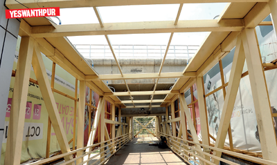 Is BBMP building skywalks to nowhere?