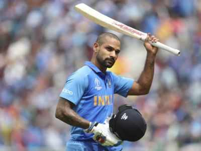 Shikhar Dhawan ruled out of World Cup for three weeks