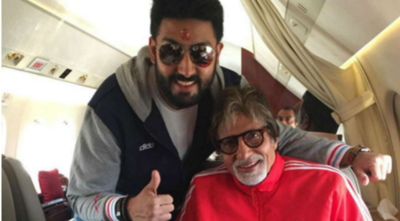 FIFA World Cup 2018: Amitabh, Abhishek Bachchan enjoy a sporty evening with family
