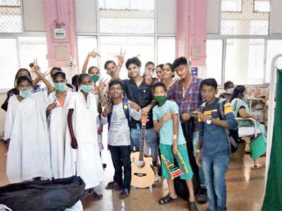 Seven youngsters, undergoing treatment, start musical group to bring cheer to Sewri Tuberculosis Hospital patients