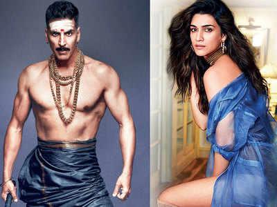 Akshay Kumar and Kriti Sanon team up for Bachchan Pandey