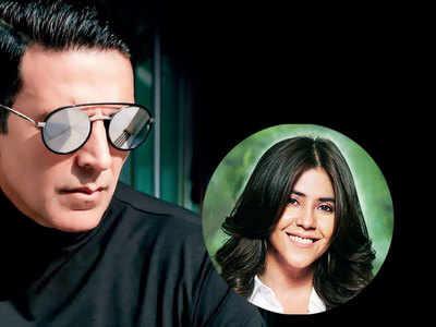 Akshay Kumar reunites with Ekta Kapoor for an action-comedy