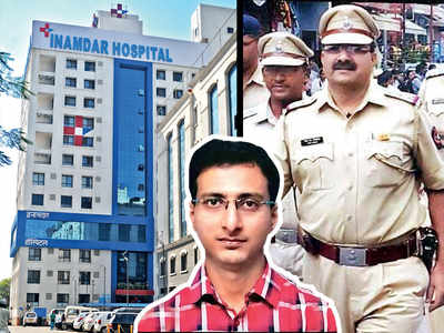 Inamdar Hospital doc slapped by PI grieving his wife's death